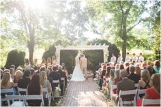 A beautiful garden ceremony. Boxwood Garden, Brick Pathway, Willow Grove, Giant Tree, Pathways, Beautiful Gardens, Shrubs, Virginia, Amy