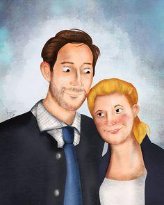"""Még egy esküvői portré az őszi szezonra, most egy kicsit """"realisztikusabb"""" mesés stílusban. 😊"""
