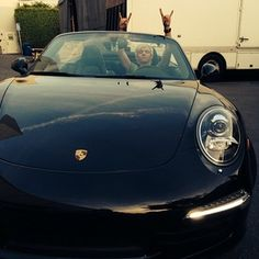 Photo of Ross Lynch Porsche - car