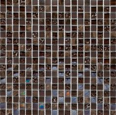 5 8 Mix Gl And Stone Mosaic Tile Dark Brown Manufacturer Is Ms