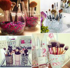 Inspirations : rangement maquillage et chambre