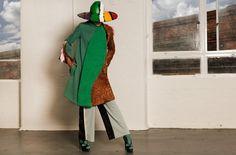 #Hat #Fedora Noel Stewart, #Shoes NicholasKirkwood, #Coat #Trousers #LCF Grad Lien Bul. Photographer: Fabrice Lachant. Stylist: Guy Hipwell