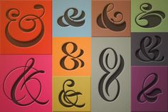 ampersand fonts | ... Ampersands come packaged as a .ttf font (mac and pc) as well as .eps