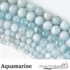 "Aquamarine (from Latin: aqua marina, ""water of the sea"") is a blue or cyan variety of Beryl. In ancient lore, Aquamarine was believed to be the treasure of mermaids, and was used by sailors as a talisman of good luck, fearlessness, and protection. It was also considered a stone of eternal youth and happiness. Aquamarine is a Water element stone, powerful for cleansing the emotional body and opening communication. Associated with the throat chakra, Aquamarine helps overcome the fear of…"