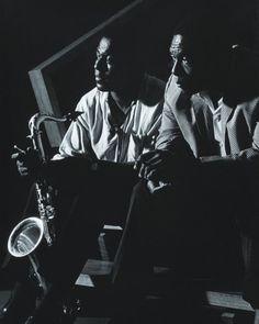 John Coltrane with Archie Shepp 1965