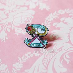 Hey, I found this really awesome Etsy listing at https://www.etsy.com/listing/387315202/fight-like-a-girl-revamped-enamel-pin