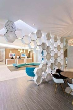 Brilliant Room Dividers Partitions Ideas You Should Try - Raumteiler Living Room Partition, Room Partition Designs, Partition Ideas, Partition Walls, Office Partitions, Room Partitions, Partition Screen, Living Room Divider, Office Interior Design