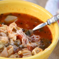 Italian Meatball Soup | Recipes | Spoonful