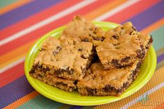 Not So Gross: Peanut Butter Chocolate Chip Cake Bars