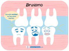 ¡Stop al #bruxismo! Unas risas para terminar este Viernes @DientesMolones #SaludBucal