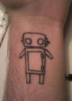 Robot wrist Tattoo by rusticrobot.deviantart.com on @DeviantArt