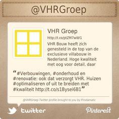 #Verbouwingen, #onderhoud en #renovatie: ook dat verzorgt VHR. Huizen #optimaliseren of uit te breiden met #kwaliteit http://vhr.nl/vhr-verbouw.php