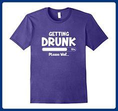 Mens Cool Vintage Beer Pub Drunk Crawl Bar Party St Patrick Shirt 3XL Purple - Food and drink shirts (*Amazon Partner-Link)
