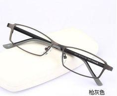 Myopia glasses pure titanium glasses frame men and women ultra - light frame with glasses glasses finished #Affiliate