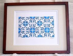 inspirated on portuguese tiles