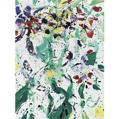 Bouquet - Sam Francis -  #abstract #painting #abstractart #art