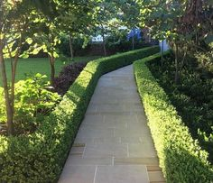 Crafted in gold & accentuated with dazzling diamonds and radiant emeralds, this stunning piece from our bridal collection is perfect to… Landscape Architecture, Landscape Design, Garden Design, Stone Path, Stone Work, York Stone, Front Gardens, Be Perfect, Bridal Collection