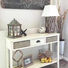 What an adorable little #entryway @restored_haven has! Our Beadboard…