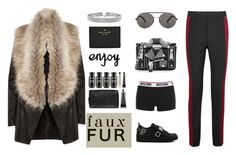 """pure style"" by jasmimestefany ❤ liked on Polyvore featuring Moschino, Seafolly, Grown Alchemist, Kate Spade, River Island, Bling Jewelry and Haider Ackermann"