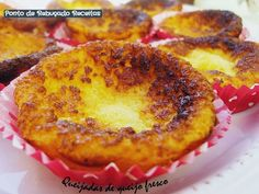 Queijadas de queijo fresco... had these in the azores, will definitely be making these.