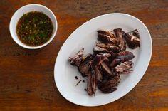 Jîn đúp as served at Muu Thup, a northern Thai restaurant in Mae Sariang, Mae Hong Son, Thailand. Image by Austin Bush