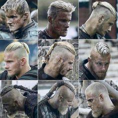 Viking Men, Viking Life, Viking Warrior, Ragnar Lothbrok Vikings, Ragnar Lothbrok Haircut, Bjorn Lothbrok, Lagertha, Viking Haircut, Ivar Vikings