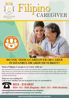 Istanbul Filipino Maids by AS Lifestyle Concierge and Real Estate Ltd. Sti.: Filipino Carer with Istanbul Filipino Maids