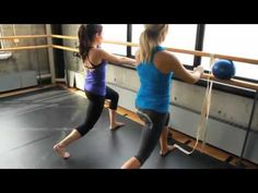 ▶ youtube.YouTube - Fashionably Fit With MizzFIT Madonna's Trainer & Barre3.flv - YouTube
