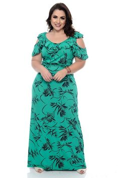 night out plus size fashion which look gorgeous. Vestidos Plus Size, Plus Size Maxi Dresses, Knee Length Dresses, Plus Size Outfits, Plus Size Fashion For Women, Plus Size Womens Clothing, Abaya Fashion, Women's Fashion Dresses, Plus Size Mom Jeans