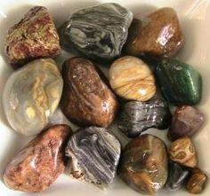 Hand-polished rocks, using a Dremel. by elisa