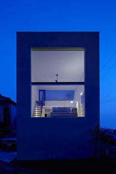 Maison à Hiyoshi, au Japon. #Architecture