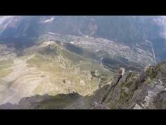 Incredible Footage of Wingsuit Daredevils Dodging Trees While Flying Down a Mountain in France