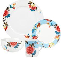 Found it at Wayfair - Isabella 16 Piece Dinnerware Set