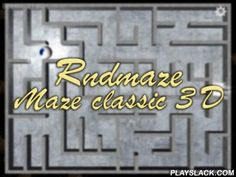 Rndmaze: Maze Classic 3D  Android Game - playslack.com , lead the ball through the collection of systems. Find the only accurate route and and get to the opening of the stage. Classic game with a metal ball and a woody system got a brand-new being in this Android game. Now you won't ever see 2 same systems as they're randomly made . struggle your appliance to lead the ball. Train your attentions, thinking and patience. commence with uncomplicated systems and gradually move to more arduous…