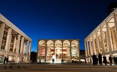Lincoln Center -- where the ballet meets the opera meets the symphony