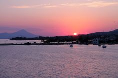 Sunset in Evia, Greece
