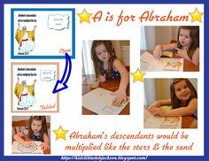 Preschool Alphabet: A is for Abraham