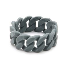 Link Chew Bracelet in Gray