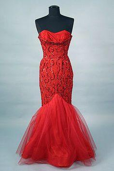 Ceil Chapman Evening Gown, 1950s
