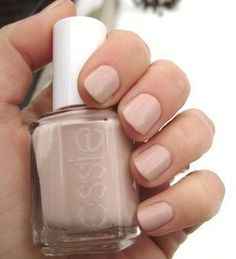 Essie's Topless and Barefoot. cant go wrong with nude.