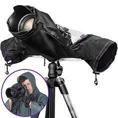 Altura Photo Professional Rain Cover for Canon Nikon Sony DSLR Mirrorless Cameras - PhotoMania - Camera, Photo & Video Experts Nikon Dslr Camera, Camera Gear, Dslr Cameras, Reflex Camera, Canon Eos, Dslr Photography Tips, Learn Photography, Photography Classes, Professional Camera