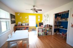 Bethany's prepared learning environment and links to montessori educational tools.