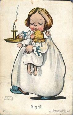 Katharine Gassaway postcard