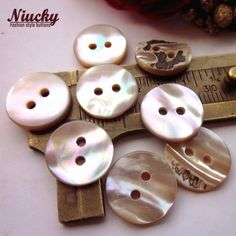 Cheap natural shell buttons, Buy Quality shell shirt buttons directly from China shell buttons Suppliers: Niucky 10mm-12mm 2 holes High-grade Natural Shell buttons wholesale Round Abalone shell shirt buttons for clothing S0101-036