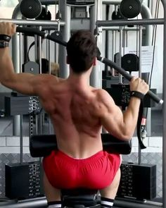 Back Workout Men, Workout Plans, Cable Row, Smith Machine, Back Day, Upper Body, Biceps, Workout Videos, Workout Routines