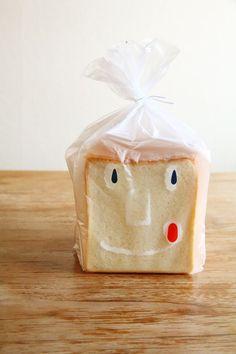 japanese bread packaging.