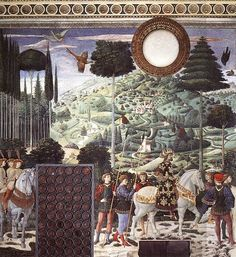 File:Benozzo Gozzoli - Procession of the Middle King (south wall) - WGA10259.jpg