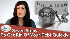 Debt can have a hugely negative impact on your life. In this video I help you understand how you got into debt and show you seven steps to get you out of deb. Debt, Rid, How To Get, Videos, Movie Posters, Movies, Films, Film, Movie
