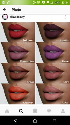 fall makeup – Hair and beauty tips, tricks and tutorials Pink Lipstick Makeup, Lipstick For Dark Skin, Burgundy Lipstick, Lipstick Colors, Lip Makeup, Lip Colors, Lipstick Lighter, Lipstick Shades, Makeup Looks