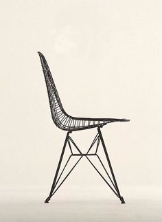 Eames Experimental Wire and Rod Chair Shell, designed 1951